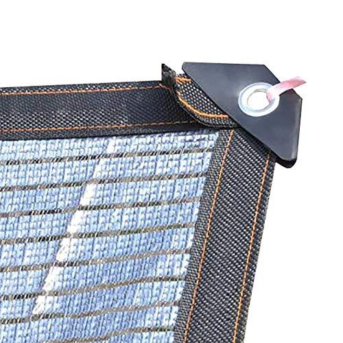 Sonnenschutznetz 75-80% Reflektierendes Aluminet-Farbton-Tuch, Kühlnetz-Sonnenschutz Für Garten-Bauernhof-Carport-Dach-Gewächshäuser Schattierend (Size : 3m×3m(10ftx10ft))
