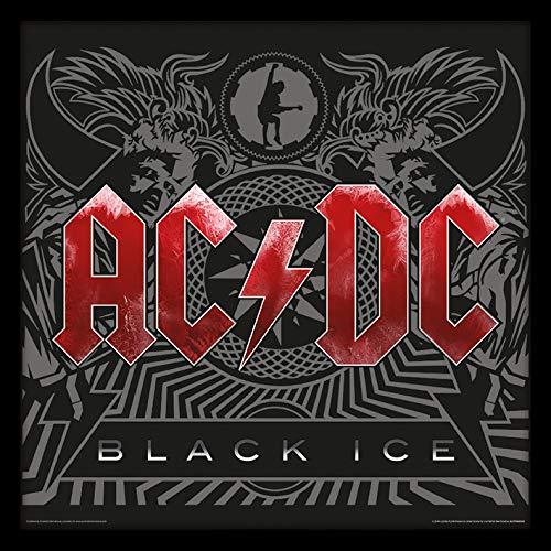 AC/DC (Black Ice) 31.5 x 31.5 cm objet Souvenir