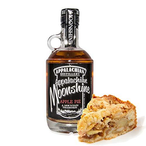 Appalachian Moonshine - Apple Pie. 20% Vol. - Echter handgefertigter Moonshine Whiskey aus West Virginia, USA.
