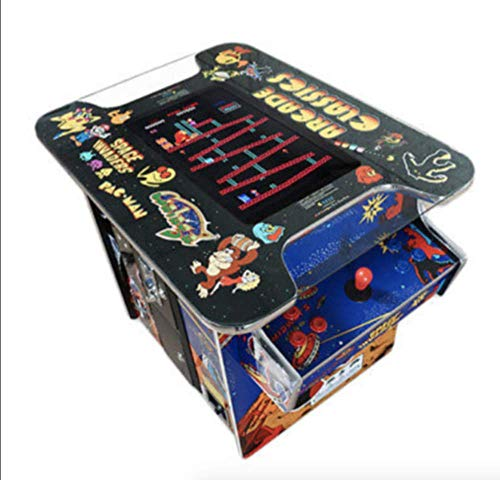AB INC. Exclusive Huge 22' Screen !! NOT 19 INCH!! Cocktail Arcade Machine 412 Classic Games 150LB+ Commercial Grade