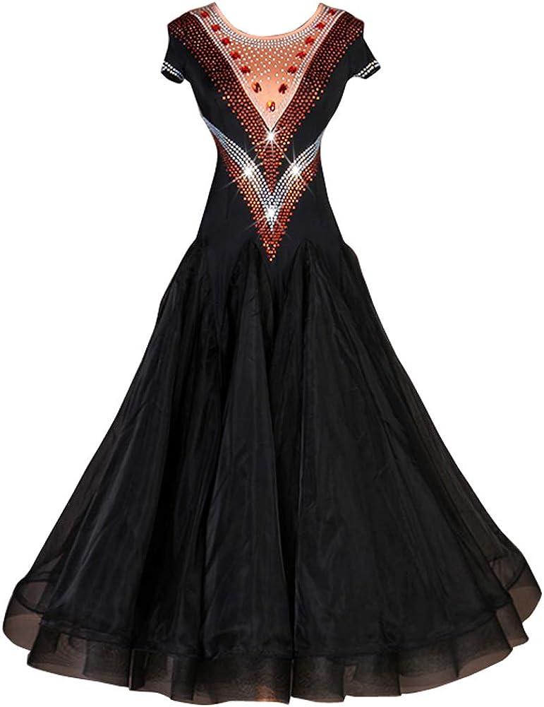 NAKOKOU Ballroom Dance Dresses Max 72% OFF Training Span Omaha Mall Women's Performance
