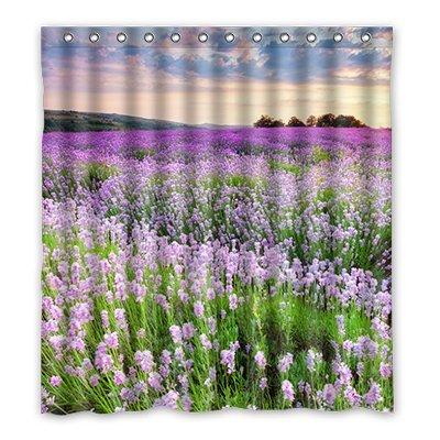 Dalliy Brauch die romantische liebe lavendel Wasserdicht Polyester Shower Curtain Duschvorhang 167cm x 183cm