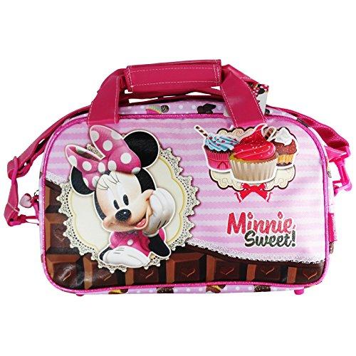 Disney Minnie Infantil Sweet Cake Borsa Sport Piscina Palestra a Spalla con Tracolla