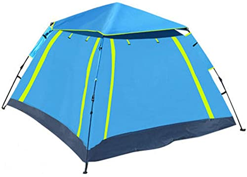 AGYE Tente De Camping Familiale Tunnel, 2 Fenêtres, Jusqu'à 6 Personnes pour Randonnée Plage Camping Extérieur