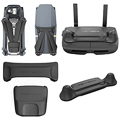 UNIKEL PGYTECH New Remote Silicone Controller Stick Protector with Propellers Clip Props Stabilizer Protector Transport Holder Protection Guard Fixator Kit for DJI Mavic Pro Accessories