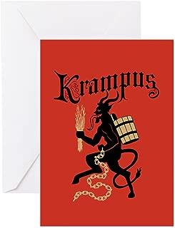 CafePress Krampus Greeting Cards Greeting Card, Note Card, Birthday Card, Blank Inside Matte
