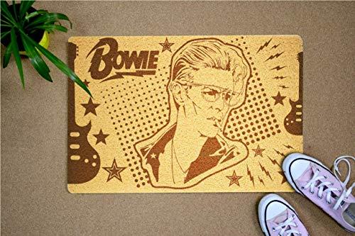 StarlingShop David Bowie - Felpudo con diseño de David Bowie de David Bowie