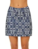 Ekouaer Women's Everyday Skort with Built-in Shorts Any Activities Light Summer Skirts Workout Gym