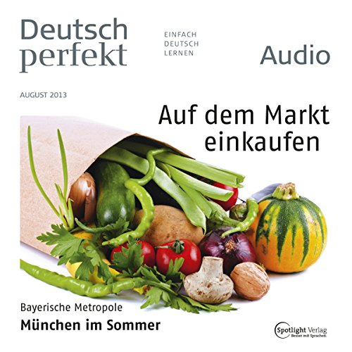 Deutsch perfekt Audio. 8/2013 cover art