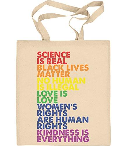 Shirtgeil Love is Love Pride LGBT Kleidung - Lesbian & Gay Jutebeutel Baumwolltasche One Size Natur