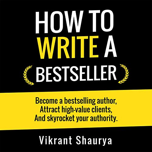 How to Write a Bestseller audiobook cover art