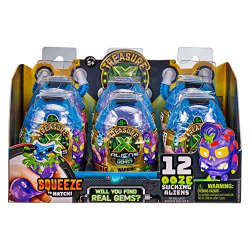Treasure X Aliens Ooze Egg - Pack of 6 Eggs - New Version