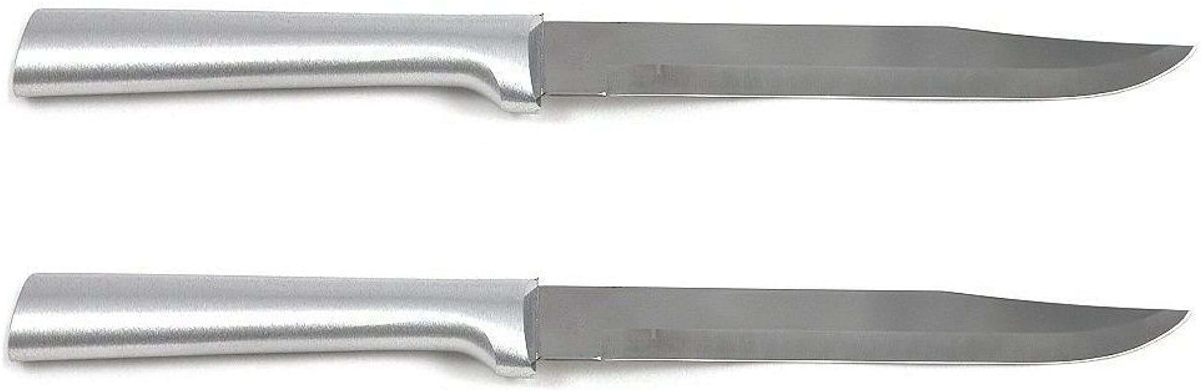 Rada Cutlery Utility Steak Knife With Aluminum Handle Pack Of 2