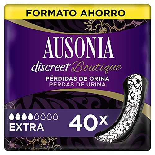 Ausonia Discreet Boutique Compresas Para Pérdidas De Orina Extra Para Vejigas Hiperactivas x 40