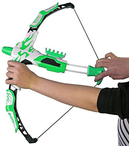 Nick and Ben Kinder-Bogen Sport-Bogen Soft-Pfeil Mädchen Fantasy Flitze-Bogen Jungen Compoundbogen Lang-Bogen Recurve-Bögen Dart für Rollen-Spiele Kinder-Spielzeug