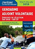 Gendarme adjoint volontaire - Epreuves de sélection GAV APJA - EP - Tout-en-un