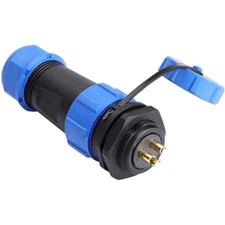 Wasserdichte Steckverbinder 3-poliges IP68 10A-Elektrokabel LED-LichtanschlusWP4