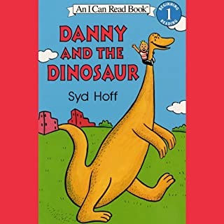 Danny and the Dinosaur audiobook cover art