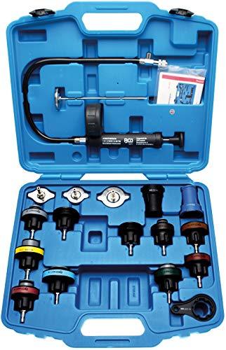 BGS 8027 | Kühlsystem-Abdrück-Satz | 18-tlg. | Kühlmittel | Tester, Prüfgerät, Testkoffer