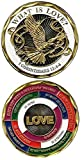 Military Challenge Coins 1 Corinthians 13:4-8 What is Love