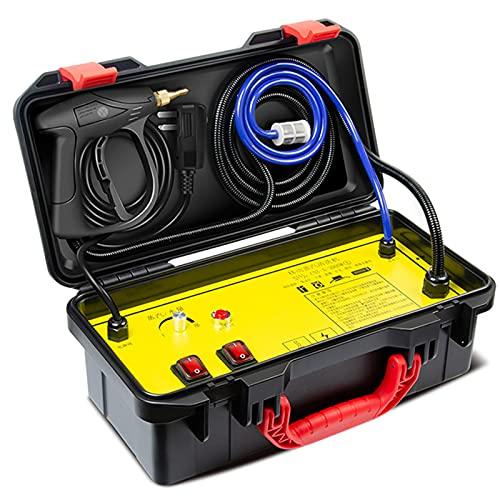 wenhu Limpiador de Vapor eléctrico de 110 V 220V 3000W 4.5Bar Temperatura de Alta Temperatura y presión Aire Acondicionado Capucha Limpieza de automóviles