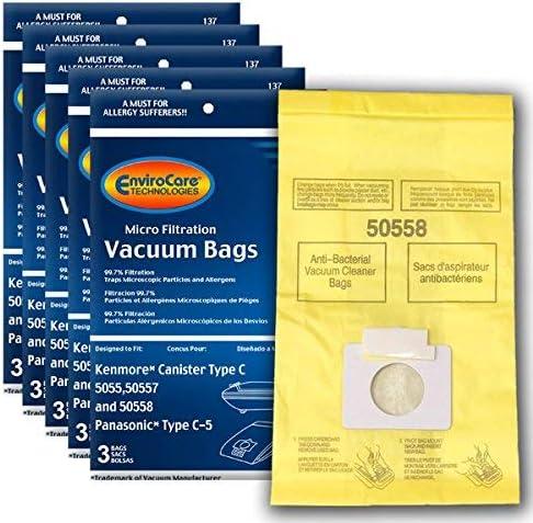 18 KENMORE 50558 MICROFILTRATION VACUUM BAGS product image