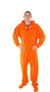orange onesies for adults