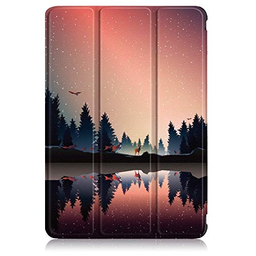 GHC Pad Fundas & Covers para Amazon Fire HD 8 8'2020, Nueva Caja Plegable de Cuero PU Tablet Protector Shell Shop Cove Cover FUT Fire HD8 Plus (Color : Silver)