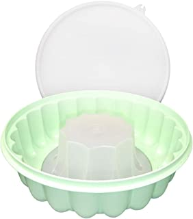 Tupperware Large Green Jello Mold Jel N Serve with Lid (Green)