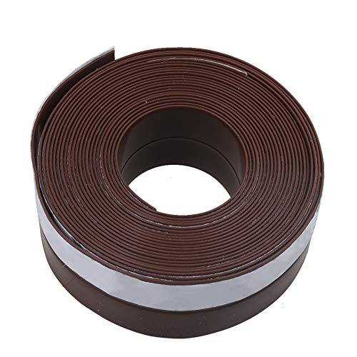5 M Länge 25x1 MM Braun Garagentor Dichtung Gummi Dichtungsstreifen selbstverschweißendes Silikonband, Silikon Tape Reparaturband, Isolierband und Dichtungsband