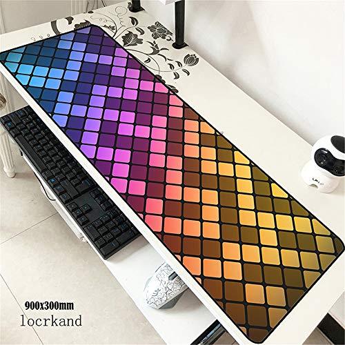 Juego Impermeable Teclado para computadora computadora Tableta Mouse Pad 900 * 400 * 3 mm 1 M300X600X2M