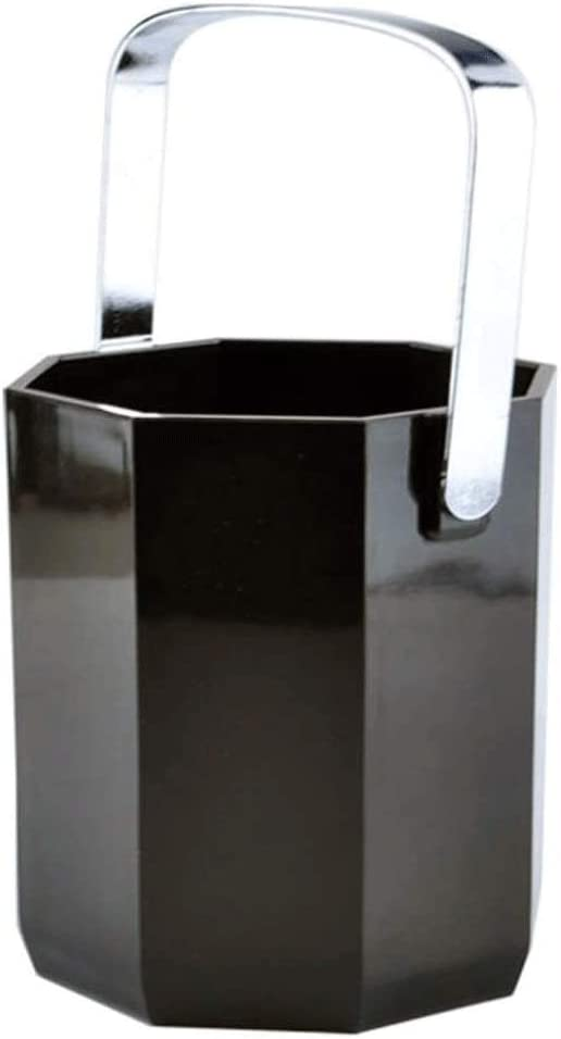 Japan's largest assortment WJCCY Acrylic Octagonal Ice Bucket Household Max 40% OFF Champagne B Plastic