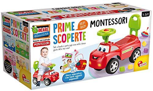 Lisciani Giochi - 76567 Gioco per Bambini Montessori Cavalcabile Esperienze in Casa