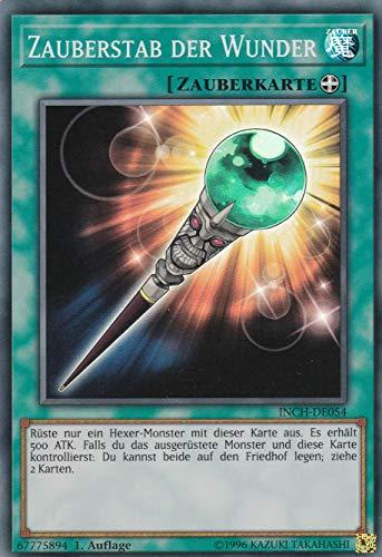 INCH-DE054 - Zauberstab der Wunder - Super Rare - Yu-Gi-Oh - Deutsch - 1. Auflage