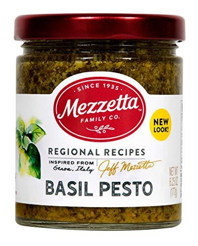Mezzetta Sauce Pesto Basil Italian Home Made, 6.25 oz