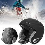 Pokerty9 Casco de Snowboard, Casco de esquí, al Aire Libre para Patinar Unisex Adultos Hombres y Mujeres
