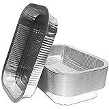 Bacs à grill en aluminium | Parfaits pour Weber | Bols à égouttures en aluminium de haute qualité | Bacs à grillades | 25...