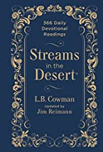 By Zondervan Streams in the Desert: 366 Daily Devotional Readings (Updated)