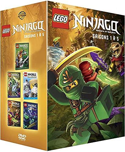 Lego Ninjago, Les maîtres du Spinjitzu-Saisons 1 à 5 [Édition Limitée]