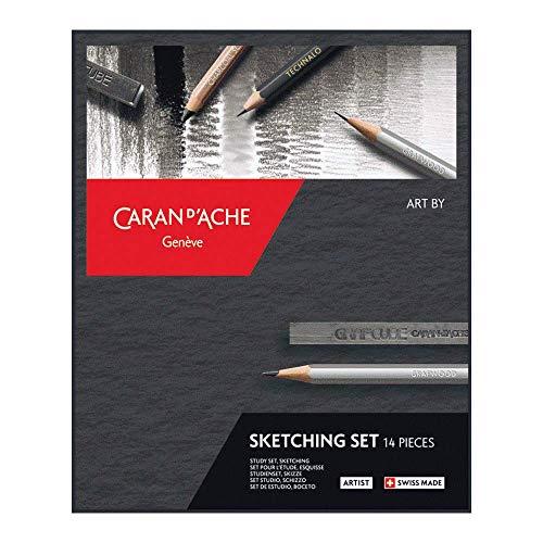 Caran d'Ache Art by Sketch - Set da 14 pezzi