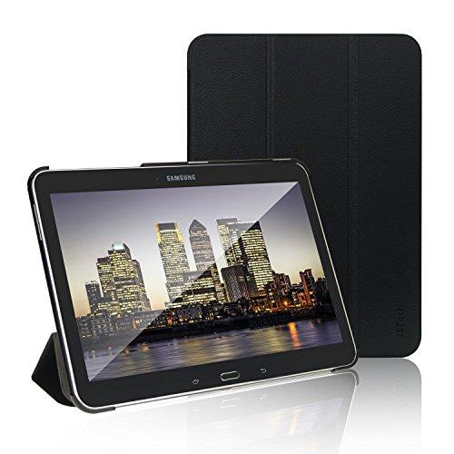 JETech Custodia Compatibile Samsung Galaxy Tab 4 10,1″ (T530/T531/T535), Cover con Funzione di Supporto, Auto Svegliati/Sonno, Nero
