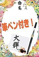命名用紙フルセット 絵本 全9種類【用紙10枚、筆ペン付き!!】