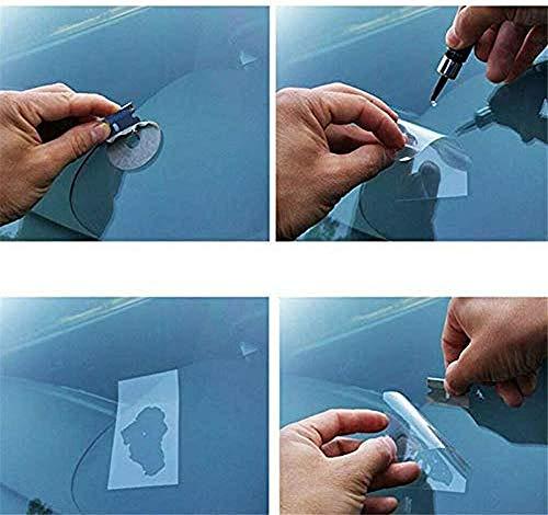 Automotive Glass Nano Repair Fluid-Car Windshield Repair Resin Cracked Glass Repair Kit,Glass Corrector Set, Crack Repairing for Car