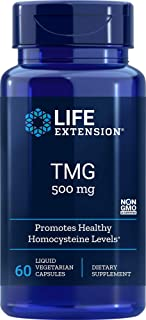 Life Extension TMG 500 mg, 60 Liquid Vegetarian Capsules