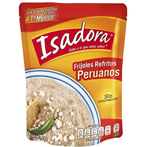 Braunes Bohnenpüree, frittiert, Pack 430g - Frijoles Refritos Peruanos ISADORA 430g
