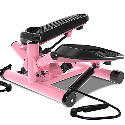 Multifunción Swing Stepper up-Down-Stepper Twister Pedal Machine Resistencia Ajustable Equipo de Gimnasio en casa con cordón