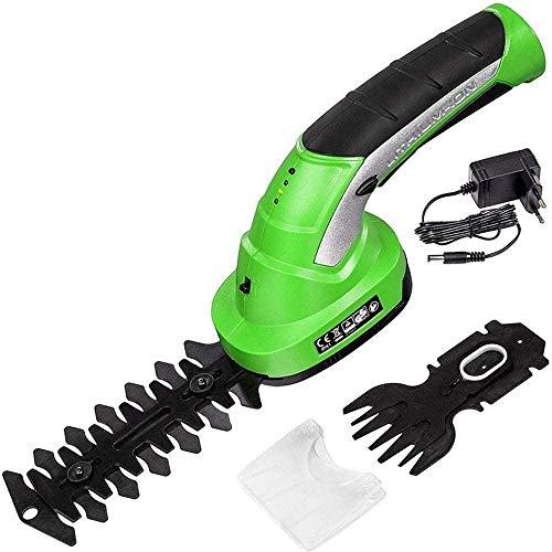 YAYY 2 in 1 oplaadbare heggenschaar elektrisch gereedschap 7 2 V combi-grasmaaier grasmaaier accu-lichte tuingereedschap (upgrade)