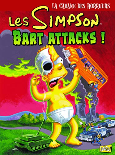 Les Simpson - La cabane des horreurs - tome 7 Bart Attacks (07)