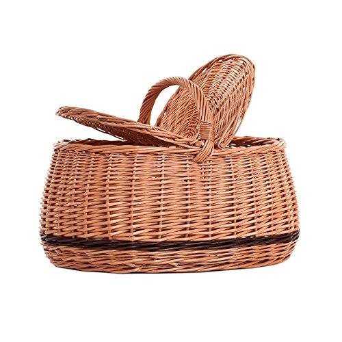 Panier pique-nique en osier ,panier en osier