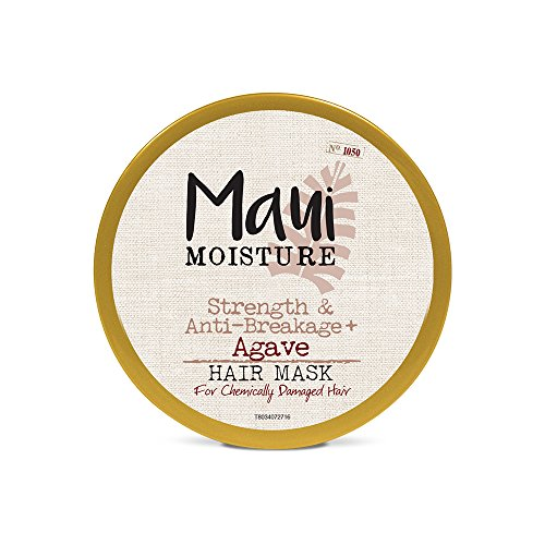 Price comparison product image Maui Moisture Strength & Anti-Breakage + Agave Nectar Hair Mask,  12 Ounce,  Rich and Creamy Silicone Free Hair Mask Gentle Enough For Fragile,  Damaged Hair,  Helps Detangle and Resist Breakage